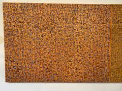 Hyunae Kang Am Modern Abstract Mixed Media Canvas Painting Pray 5 Trilogy Hyunae Kang - 1483590