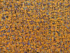 Hyunae Kang Am Modern Abstract Mixed Media Canvas Painting Pray 5 Trilogy Hyunae Kang - 1483593
