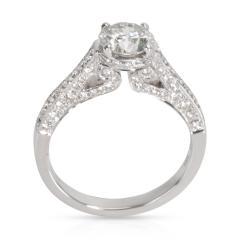 IGI Certified Diamond Engagement Ring in 18K White Gold 1 59 CTW - 1666987