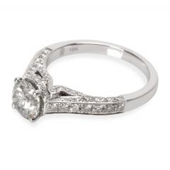IGI Certified Diamond Engagement Ring in 18K White Gold 1 59 CTW - 1666988