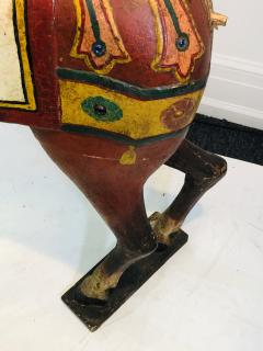 IMPORTANT CARVED TURN OF THE CENTURY CAROUSEL HORSE - 1025517