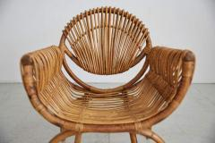 ITALIAN BAMBOO SETTEE AND CHAIRS - 1412946