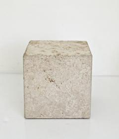 ITALIAN CREAM TRAVERTINE SIDE TABLES OR COFFEE TABLES - 1813004