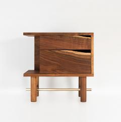ITZ Mayan Wood Furniture Ocum Nightstand - 707515