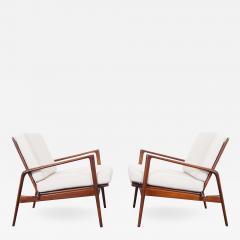 Ib Kofod Larsen Danish Modern Lounge Chairs By Ib Kofod Larsen   508705