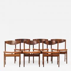 Ib Kofod Larsen Dining Chairs Produced by Seffle M belfabrik - 1982392