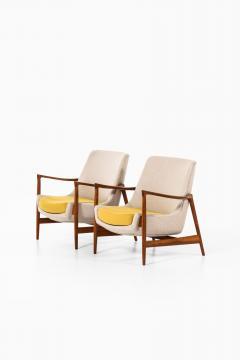 Ib Kofod Larsen Easy Chairs Model 4346 Produced by Fritz Hansen - 1997042