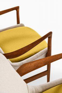 Ib Kofod Larsen Easy Chairs Model 4346 Produced by Fritz Hansen - 1997045