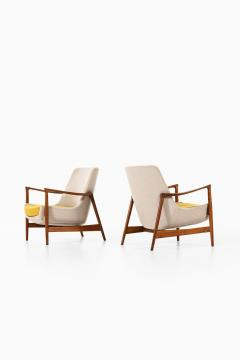 Ib Kofod Larsen Easy Chairs Model 4346 Produced by Fritz Hansen - 1997048