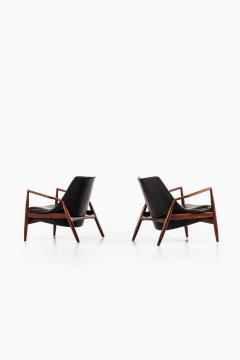 Ib Kofod Larsen Easy Chairs Model S len Seal Produced by OPE - 1951765