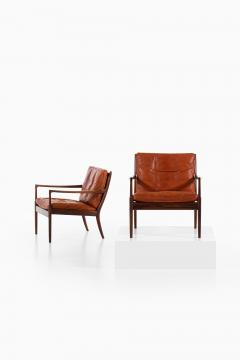 Ib Kofod Larsen Easy Chairs Model Sams Produced by OPE - 1888636