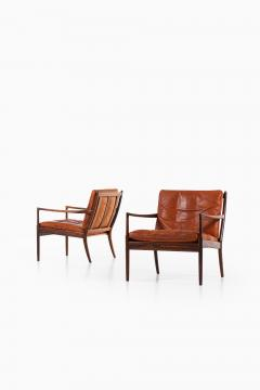 Ib Kofod Larsen Easy Chairs Model Sams Produced by OPE - 1888643
