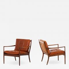 Ib Kofod Larsen Easy Chairs Model Sams Produced by OPE - 1892243