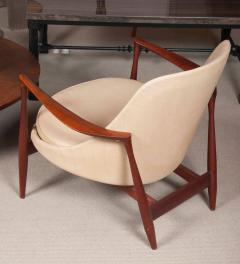 Ib Kofod Larsen Elizabeth Chair by Ib Kofod Larsen in Teak and Leather - 169467