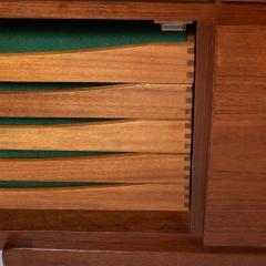 Ib Kofod Larsen Free standing Sideboard by Ib Kofod Larsen for Faarup M belfabrik Teak - 1197483