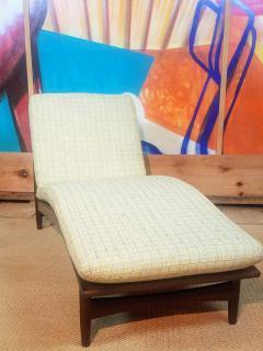 Ib Kofod Larsen Ib Kofod Adjustable Chaise Lounge Denmark - 1605911