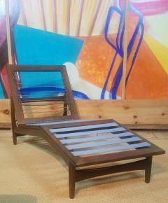 Ib Kofod Larsen Ib Kofod Adjustable Chaise Lounge Denmark - 1605914