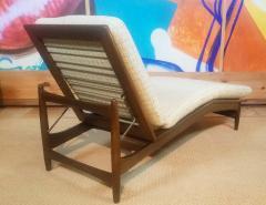 Ib Kofod Larsen Ib Kofod Adjustable Chaise Lounge Denmark - 1605929