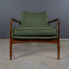 Ib Kofod Larsen Ib Kofod Larsen 1960s Sculpted Lounge Chairin Walnut for Selig - 2168408