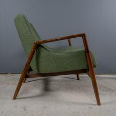 Ib Kofod Larsen Ib Kofod Larsen 1960s Sculpted Lounge Chairin Walnut for Selig - 2168419