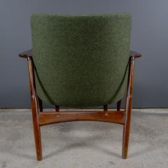 Ib Kofod Larsen Ib Kofod Larsen 1960s Sculpted Lounge Chairin Walnut for Selig - 2168421
