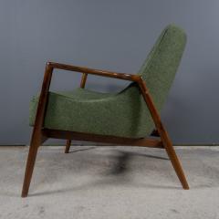 Ib Kofod Larsen Ib Kofod Larsen 1960s Sculpted Lounge Chairin Walnut for Selig - 2168431