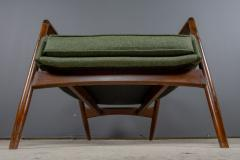 Ib Kofod Larsen Ib Kofod Larsen 1960s Sculpted Lounge Chairin Walnut for Selig - 2168436