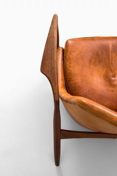 Ib Kofod Larsen Ib Kofod Larsen Easy Chair Model S len Seal Produced by OPE in Sweden - 1783621