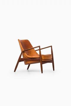 Ib Kofod Larsen Ib Kofod Larsen Easy Chair Model S len Seal Produced by OPE in Sweden - 1783624