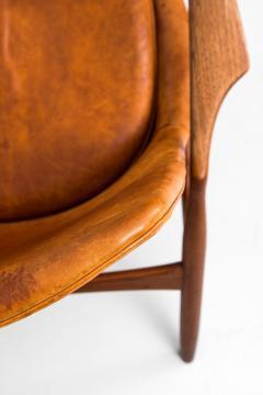 Ib Kofod Larsen Ib Kofod Larsen Easy Chair Model S len Seal Produced by OPE in Sweden - 1783627
