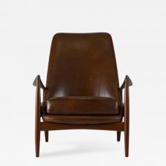 Ib Kofod Larsen Ib Kofod Larsen High Back Seal Chair   224191