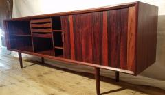 Ib Kofod Larsen Ib Kofod Larsen Rosewood Tambour Sideboard Faarup M belfabrik Denmark 1960s - 1819340