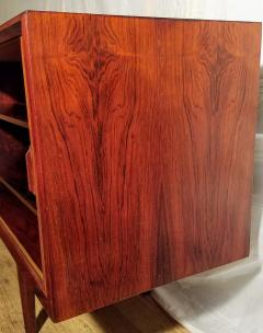 Ib Kofod Larsen Ib Kofod Larsen Rosewood Tambour Sideboard Faarup M belfabrik Denmark 1960s - 1819341