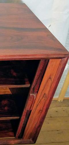 Ib Kofod Larsen Ib Kofod Larsen Rosewood Tambour Sideboard Faarup M belfabrik Denmark 1960s - 1819344