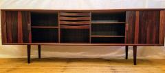 Ib Kofod Larsen Ib Kofod Larsen Rosewood Tambour Sideboard Faarup M belfabrik Denmark 1960s - 1819346