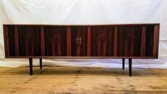 Ib Kofod Larsen Ib Kofod Larsen Rosewood Tambour Sideboard Faarup M belfabrik Denmark 1960s - 1826341