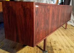 Ib Kofod Larsen Ib Kofod Larsen Rosewood Tambour Sideboard Faarup M belfabrik Denmark 1960s - 1826343
