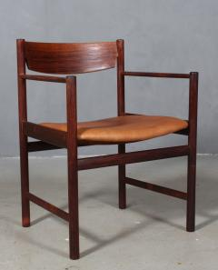 Ib Kofod Larsen Ib Kofod Larsen Rosewood armchair - 2031200