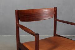 Ib Kofod Larsen Ib Kofod Larsen Rosewood armchair - 2031267