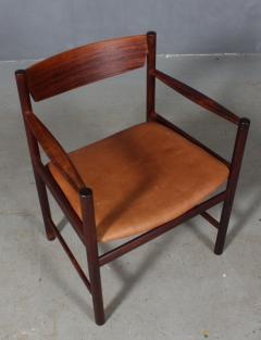 Ib Kofod Larsen Ib Kofod Larsen Rosewood armchair - 2031287
