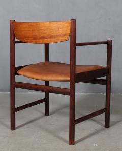 Ib Kofod Larsen Ib Kofod Larsen Rosewood armchair - 2031288