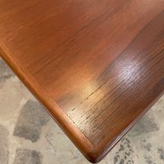 Ib Kofod Larsen Ib Kofod Larsen Solid Teak Wood Dining Table Extendable Elegance 1960s Modern - 2032977