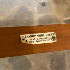 Ib Kofod Larsen Ib Kofod Larsen Solid Teak Wood Dining Table Extendable Elegance 1960s Modern - 2032994