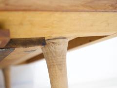 Ib Kofod Larsen Ib Kofod Larsen Teak and White Fabric Upholstered Daybed - 1194857