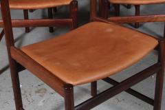 Ib Kofod Larsen Ib Kofod Larsen Ten rosewood dining chairs 10  - 2020500