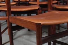 Ib Kofod Larsen Ib Kofod Larsen Ten rosewood dining chairs 10  - 2020501
