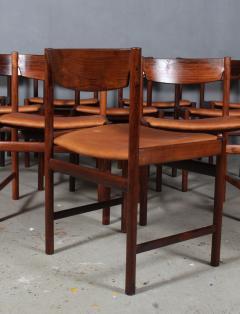 Ib Kofod Larsen Ib Kofod Larsen Ten rosewood dining chairs 10  - 2020502