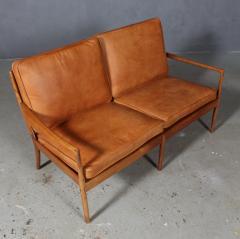 Ib Kofod Larsen Ib Kofod Larsen Two seater sofa model Sams  - 1990949