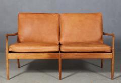 Ib Kofod Larsen Ib Kofod Larsen Two seater sofa model Sams  - 1990953