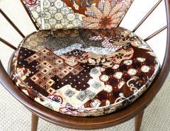 Ib Kofod Larsen Ib Kofod Larsen for Selig Danish Hoop Peacock Chair - 1240324